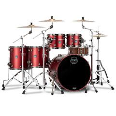 "Mapex Saturn Evolution 22"" Tuscan Red Studioease Shell Set « Schlagzeug"