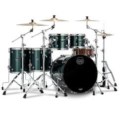 "Mapex Saturn Evolution 22"" Brunswick Green Studioease Shell Set « Schlagzeug"
