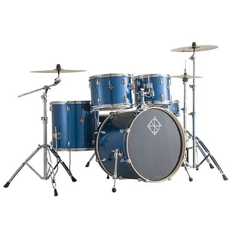 Schlagzeug Dixon PODSK522S1OBS Spark 5 pcs. Ocean Blue Sparkle Complete Drumset