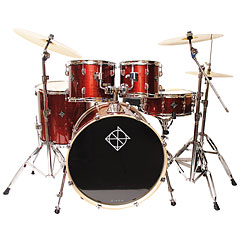 Dixon PODSK522S1CRD Spark 5 pcs. Cyclone Red Complete Drumset « Drum Kit