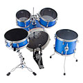 Schlagzeug Dixon PODJ516DBS Jet Set Plus 5 Pcs. Deep Blue Sparkle Shell Set