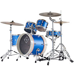 Dixon PODJ516DBS Jet Set Plus 5 Pcs. Deep Blue Sparkle Shell Set « Drum Kit