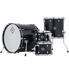 Dixon PODCSTH422-01-PB Cornerstone Hybrid Shell Set 4pc Piano Black Gloss « Drum Kit