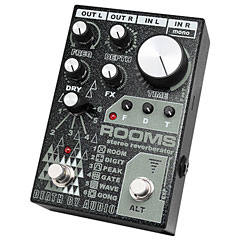 Death By Audio Rooms - Stereo Reverberator « Pedal guitarra eléctrica