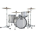 "Drum Kit Pearl President Phenolic PSP923XP/C452 Pearl White Oyster 22"" Shell Set"