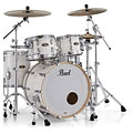"""Batería Pearl Masters Maple Gum 22"""" Silver White Swirl Shell Set"""