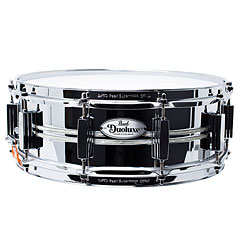"Pearl Sensitone Duoluxe DUX1450BR/405 Chrome over Brass 14"" x 5"" Snare Drum « Snare Drum"