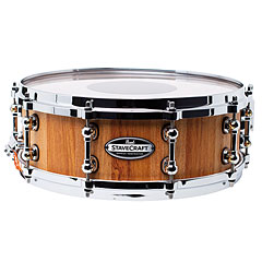 """Pearl Stave Craft SCD1450MK/186 Makha Hand Rubbed 14"""" x 5"""" Snare Drum « Caisse claire"""