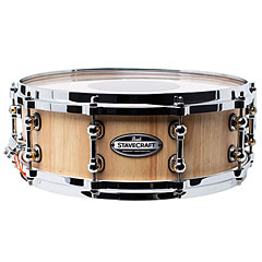 "Pearl Stave Craft SCD1450TO/186 Solid Thai Oak 14"" x 5"" Snare Drum « Snare Drum"
