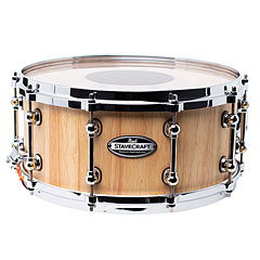 "Pearl Stave Craft SCD1465TO/186 Solid Thai Oak Hand 14"" x 6,5"" Snare Drum « Snare Drum"