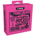 Electric Guitar Strings Ernie Ball Super Slinky 3223 .009-042 3er Pack