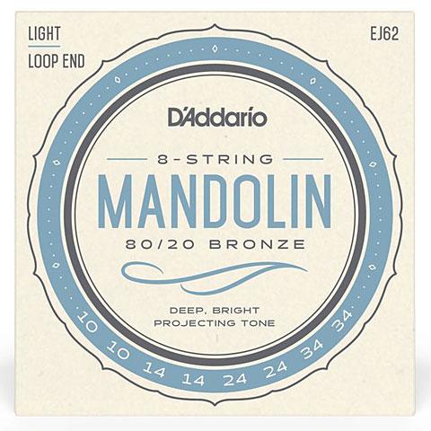 Saiten Zupfinstrument D'Addario EJ62 Mandolin