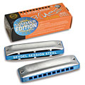 Harmonica Richter C.A. Seydel Söhne Blues Session Steel Summer Edition 2021 F