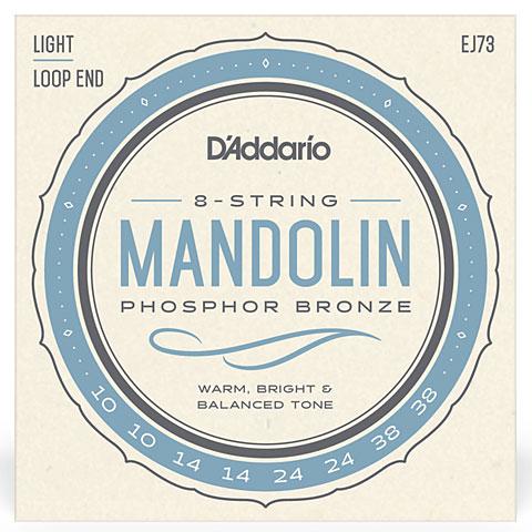 Saiten Zupfinstrument D'Addario EJ73 Mandolin