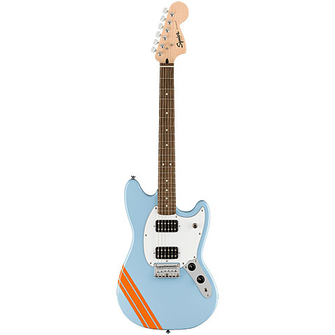 Squier Bullet Mustang HH Competition DPB « E-Gitarre