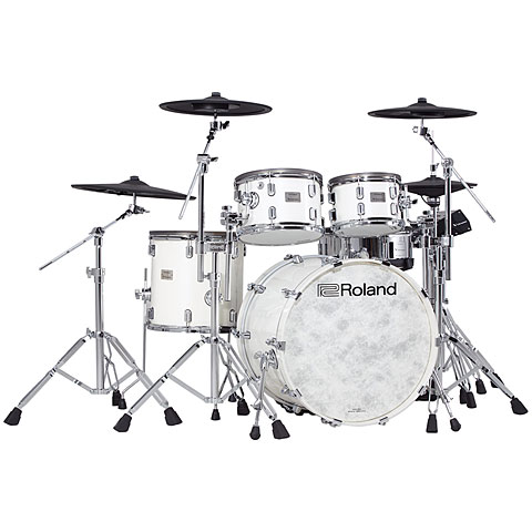 Batería electrónica Roland V-Drums VAD706-PW Acoustic Design Kit - Gloss White Pearl