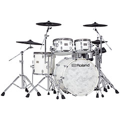 Roland V-Drums VAD706-PW Acoustic Design Kit - Gloss White Pearl « E-Drum Set