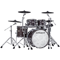 Roland V-Drums VAD706-GE Acoustic Design Kit - Gloss Ebony « Batteria elettronica