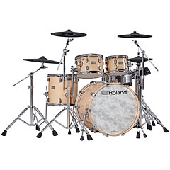 Roland V-Drums VAD706-GN Acoustic Design Kit - Gloss Natural « Batterie électronique