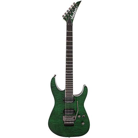 Jackson PRO SL2Q MAH Trans Green « E-Gitarre