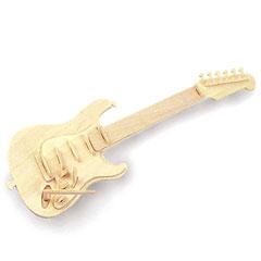 Quay QUAY Woodcraft Construction Kit Guitar « Modellbausatz