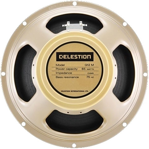 "Gitarrenlautsprecher Celestion G12M-65 Creamback 12"" 65 W 16 Ohm"