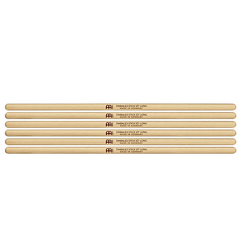 "Percussion Sticks Meinl SB126-3 Timbales Stick 1/2"" Long 3-Pack"