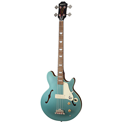 Epiphone Jack Casady Signature Faded Pelham Blue « E-Bass