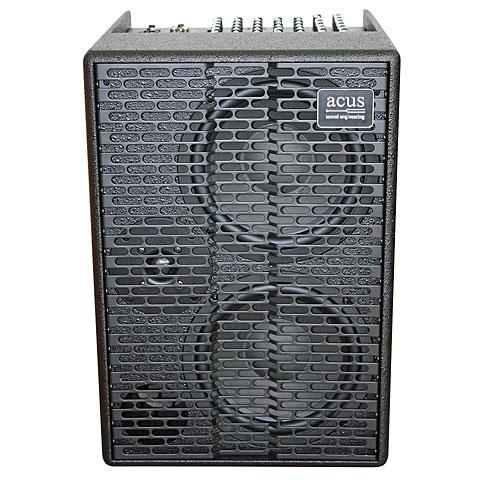 Akustikgitarren-Verstärker Acus ONE-AD Black