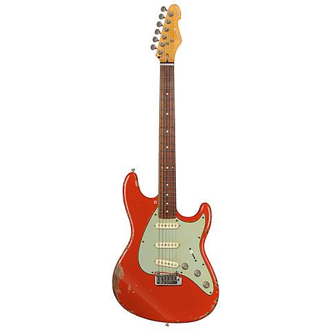 Sandberg California ST II Fiesta Red HCA « E-Gitarre