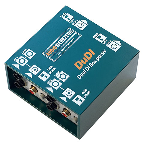 Boîte de direct Audiowerkzeug DuDI passiv