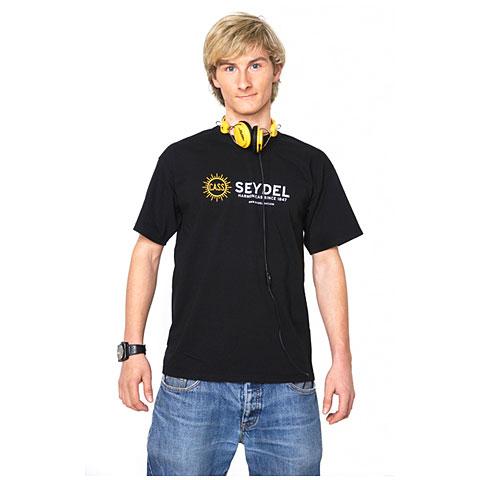 Camiseta manga corta C.A. Seydel Söhne black, Logo, L