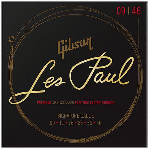 Saiten E-Gitarre Gibson SEG-LES9, 009-046 Premium