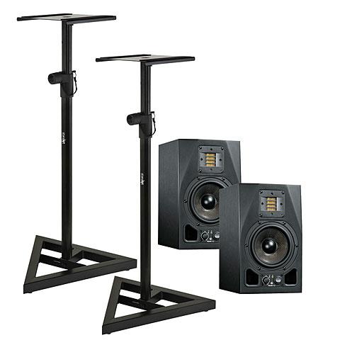 Aktiv-Monitor Adam Audio A5X Stand Bundle