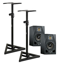 Adam Audio A5X Stand Bundle