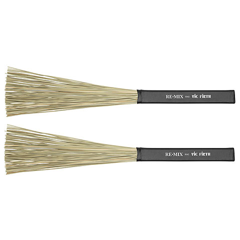 Brushes Vic Firth RM2 Remix Brush African Grass