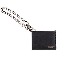 Gretsch Guitars Limited Edition Leather Wallet with Chain, Black « Article cadeau