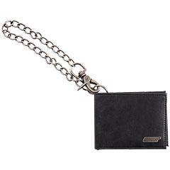 Gretsch Guitars Limited Edition Leather Wallet with Chain, Black « Artículos de regalo