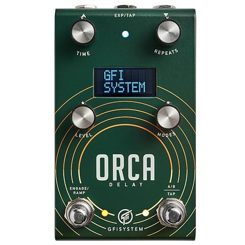 Effektgerät E-Gitarre GFI System Orca Delay