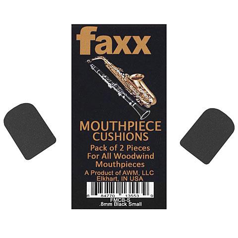 Bijt plaatjes Faxx Mouthpiece Cushion black small