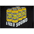 T-Shirt Charvel 6 Pack of Sound T-Shirt, M