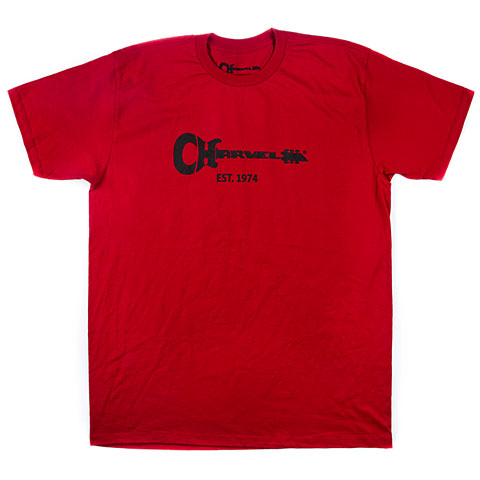 T-Shirt Charvel Guitar Logo Tee, XL