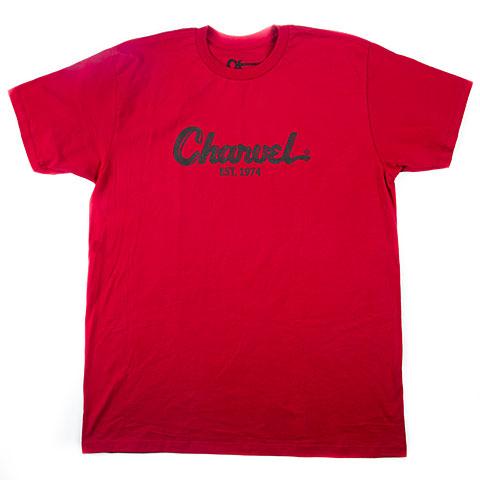 Camiseta manga corta Charvel Toothpaste Logo T-Shirt, M