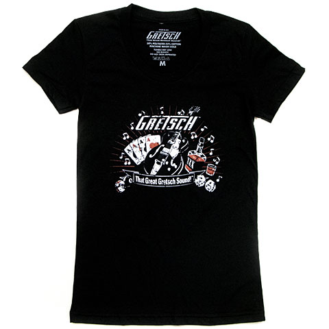 T-shirt Gretsch Guitars Great Gretsch Sound Ladies