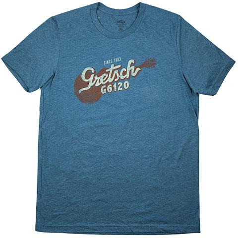 T-Shirt Gretsch Guitars G6120 T-Shirt Deep Teal