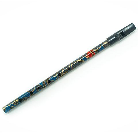 Tin Whistle Generation Flageolet Boho D blue