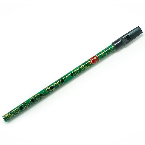 Tin Whistle Generation Flageolet Boho D green