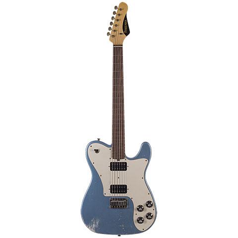 Friedman Vintage T VINTAGE-T-ARMPH Metallic Blue « Electric Guitar