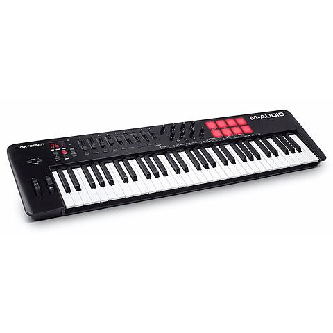 Master Keyboard M-Audio Oxygen 61 MKV