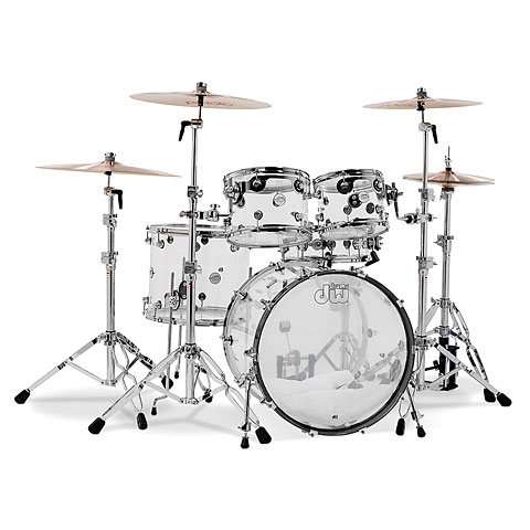 Schlagzeug DW Design 22/10/12/16/14 Acryl Shellset